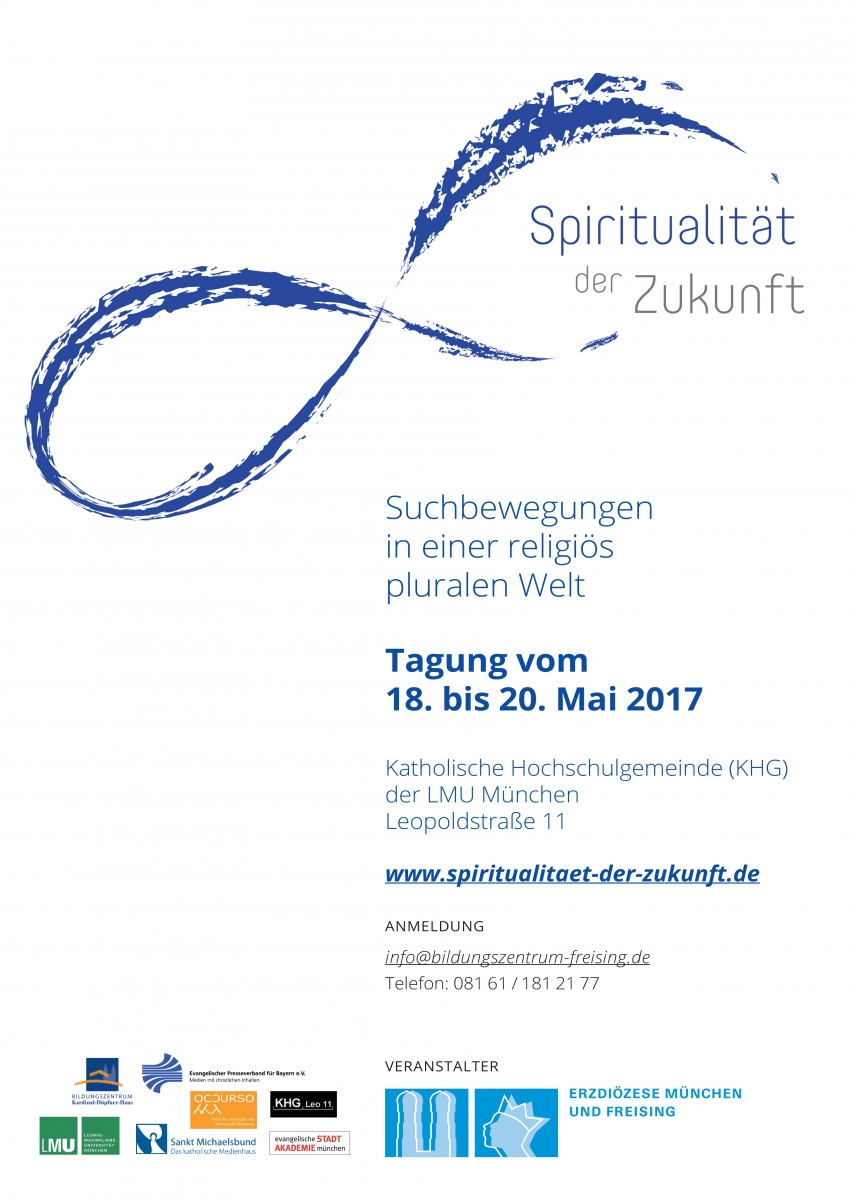 Plakat Tagung Spiritualität der Zukunft
